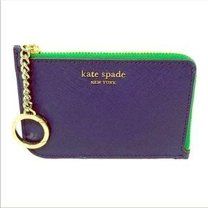 ♠️Kate Spade Cameron L-Zip Card Holder♠️
